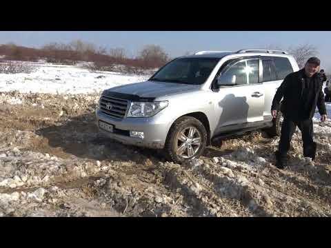TLC 200 танцы в снегу!+Легендарный мочит off-road 4x4 видео