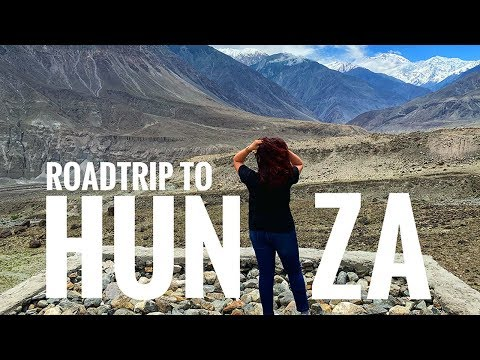 VLOG - Road Trip To Heaven | First Time In Hunza Valley | GLOSSIPS