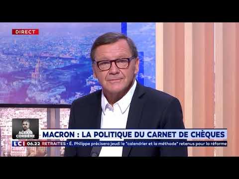 Macron : la politique du carnet de chèques Macron : la politique du carnet de chèques