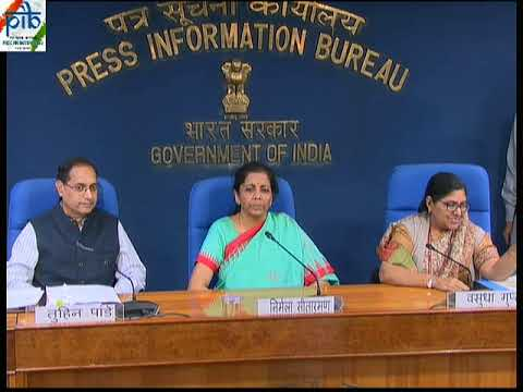 Cabinet Briefing by Union Minister