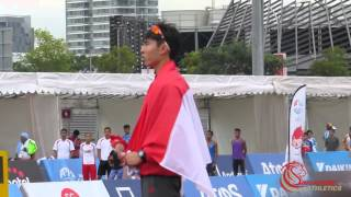 Marathon PRIZE PRESENTATION  - 2015 SEA Games
