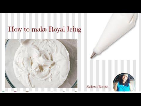 ROYAL ICING RECIPE।ONLY 3 INGREDIENTS। Akshatas Recipes Episode 270