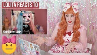 Lolita reacts to HOOKED ON THE LOOK   I'm a Pastel Goth