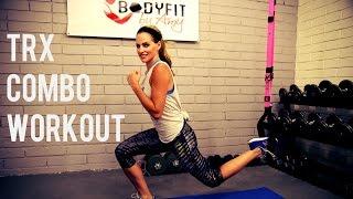 25分鐘TRX力量和心肺組合鍛鍊 出處 BodyFit By Amy