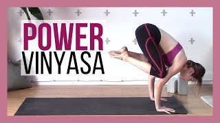 Power Vinyasa Intermediate Yoga Workout {40 min}