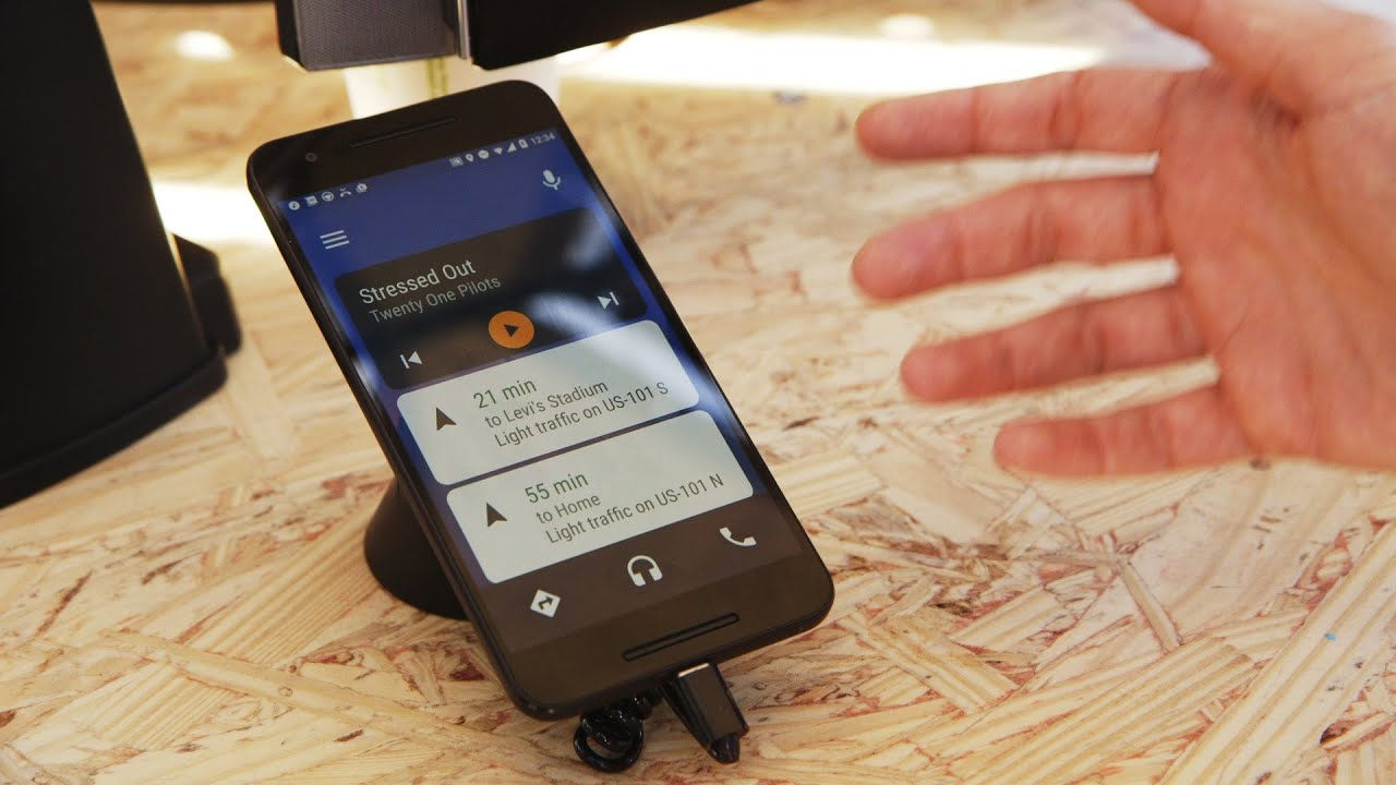 Android Auto works in any car now thumbnail