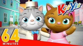 Mr Cat | Plus Lots More Nursery Rhymes And Kids Songs | 64 Minutes Compilation from KiiYii!