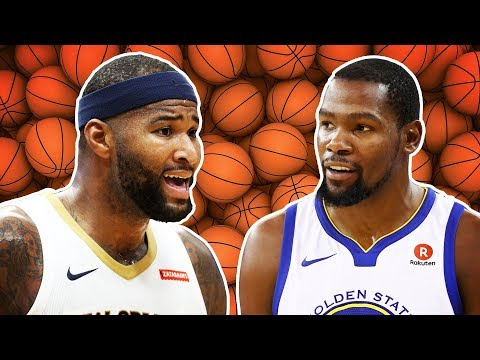 Kevin Durant Beefs With DeMarcus Cousins