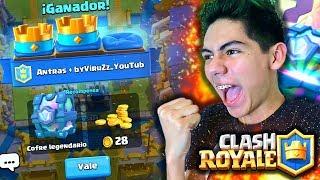 ¡CONSIGO 5 COFRES GRATIS en Clash Royale! - [ANTRAX] ☣