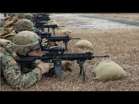 【凤凰军机处】中美两军步兵班400米遭遇 谁占优势?