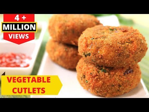 Vegetable Cutlets – CRISPY CRUNCHY VEG CUTLETS RECIPE IN HINDI By RAVINDER'S HOME COOKING