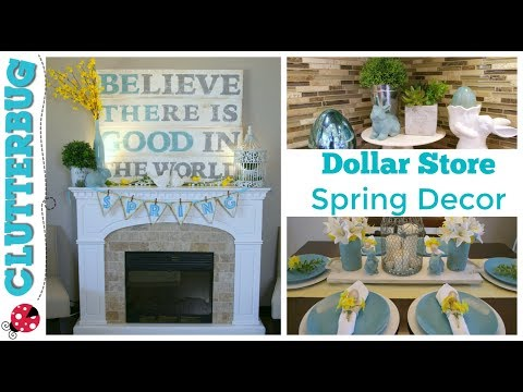 Easy Spring and Easter Decor Ideas – Dollar Store DIY Decorating