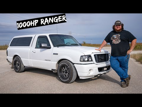 We're Building a Sleeper Ford Ranger (LS V8 Swapped)