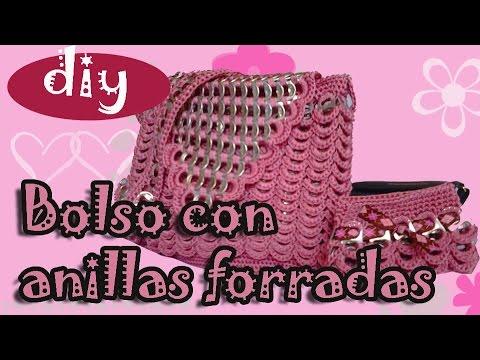 Como hacer una bolsa con fichas de refresco: Bolso Fernanda parte 3