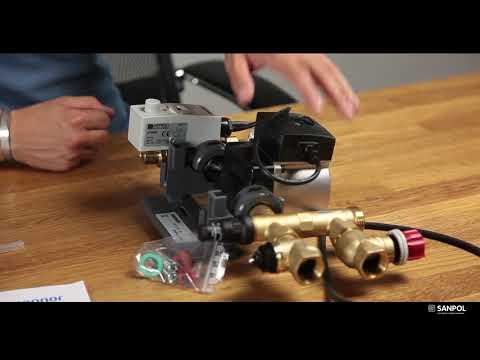 Насосно-смесительный блок Uponor Fluvia T KRS-6 youtube