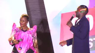 Alex Muhangi Comedy Store Sept 2018 - Ssenga Nantume Vs Mc Mariachi