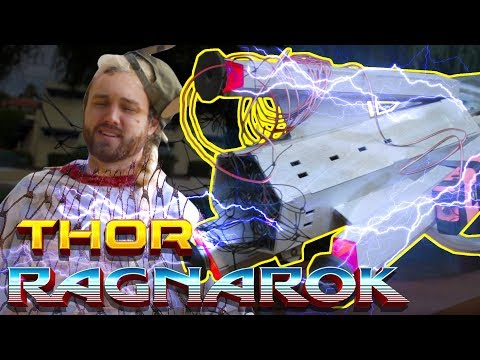 Building Thor's Only Weakness: Taser Net Cannon