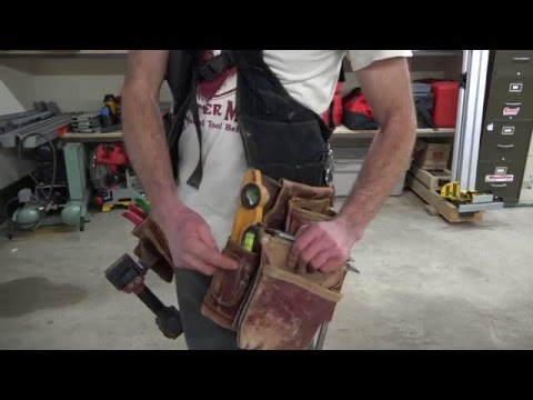 The Best Tool Belt Ever!/Or Not? Occidental Leather SuspendaVest vs Conventional Toolbelt