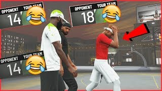 The Hilarious Struggles Of Being The Bums!  (NBA 2K20 Park)