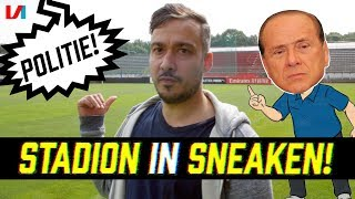 GOATTRIP #3: Suley Sneakt Stadion Van De Club Van Berlusconi Binnen!