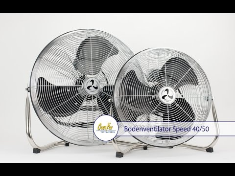 CasaFan Bodenventilator Speed 40 / Speed 50 offizielles Produktvideo