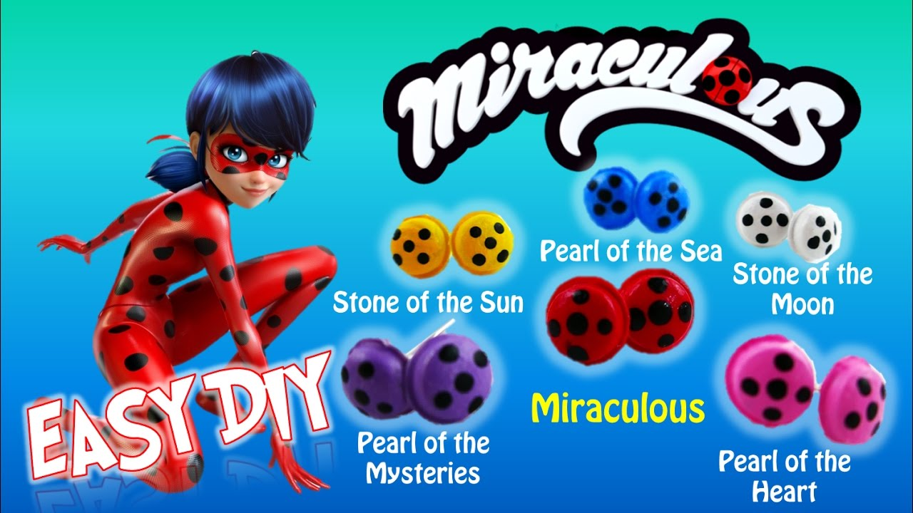 New Colored Miraculous for Ladybug? Miraculous Ladybug Season 2 Earring Tutorial | Evies Toy House
