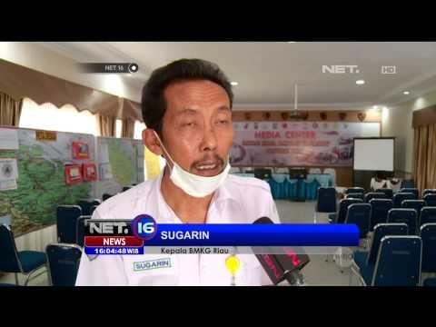 Live Report Kondisi Terkini Kabut Asap di Riau - NET16