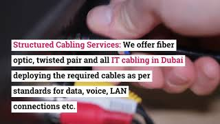 Why You Should Approach TES For IT Cabling Services in Dubai