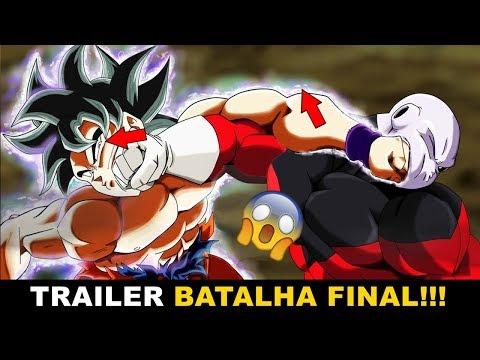 FINALMENTE REVELADO!!! A BATALHA FINAL GOKU FORMA SUPREMA vs JIREN(trailer) | Baseball Super