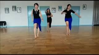 Oye Como Va - Line Dance | Demo (Maret 2018)