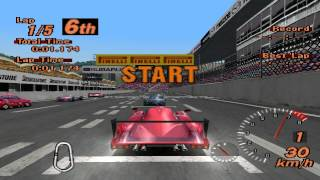 Gran Turismo 2 - Super Speedway - Toyota GT One Road Car Version - ePSXe 1.8.0