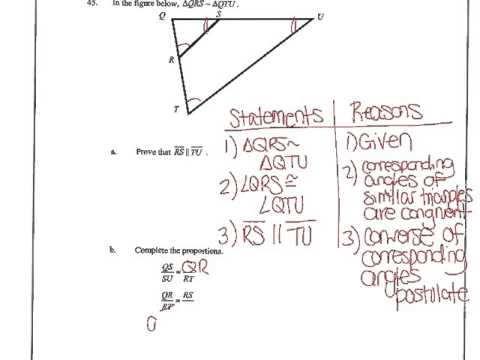 Honors Geometry Exam Review - Unit 2 Topic 1 (2015-2016 ...