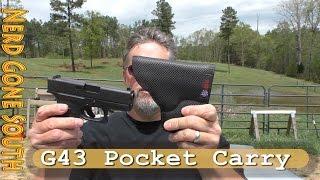 Glock 43 Pocket Carry with the Desantis Nemesis Holster