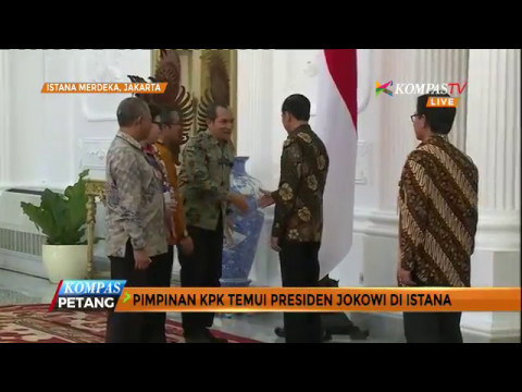 Pimpinan KPK Temui Jokowi Bahas Kasus Korupsi Terkini