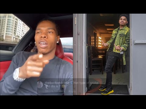 Lil Baby Reacts To NoCap & 4PF Affiliates Exchanging Words!?
