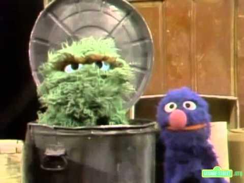 Classic Sesame Street - Grover Annoys Oscar