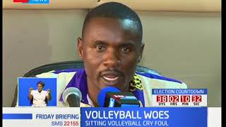 Volleyball woes: Team claim not getting support