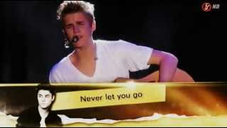 Justin Bieber - Never let you go acoustic in Mexico 2012