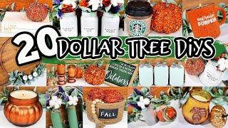 🍁 DOLLAR TREE DIY FALL DECOR 2020 *NEW* Decorating Ideas For Autumn!