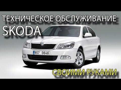 Техническое обслуживание автомобиля своими руками ТО Skoda Octavia своими руками