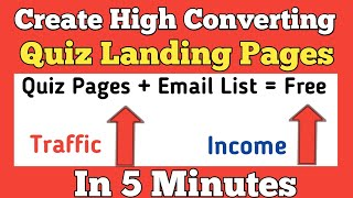 How to Create a High Converting Free Quiz Landing Page