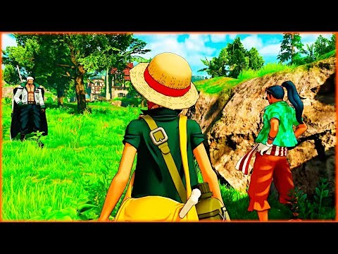 Buggy Runs Away from Smoker and Luffy | One Piece World Seeker Game | Where's Buggy Walkthrough