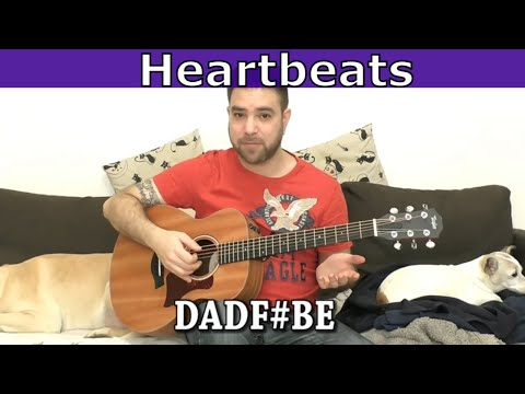 Fingerstyle Tutorial: Heartbeats - Guitar Lesson w/ TAB