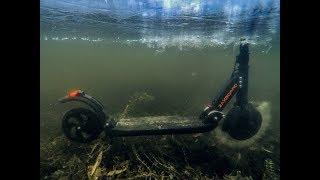Электросамокаты Zaxboard. Честный обзор и тест-драйв под водой