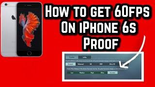HOW TO GET EXTREME 60 FPS IN IPHONE 6s,6,6splus, 7, 7plus | CONFIG | NO JAILBREAK | 2021 METHOD