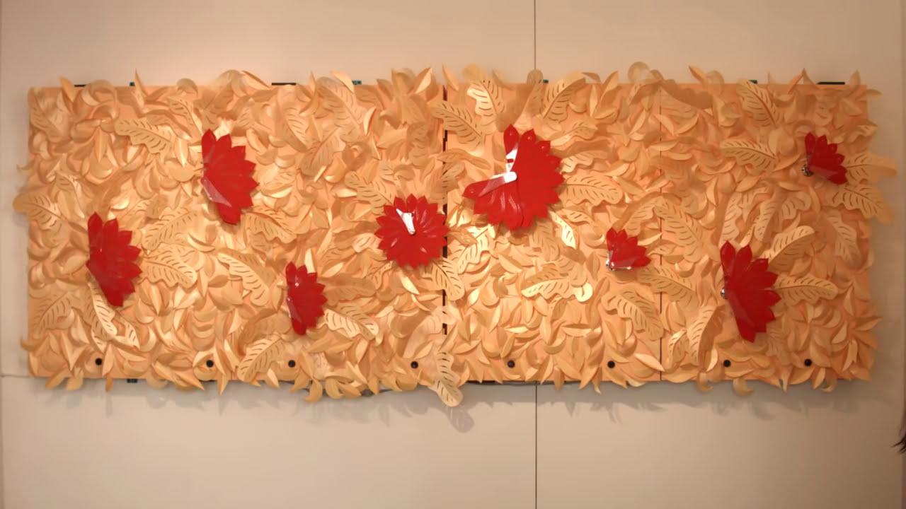 art installation paper art interactive installation by ctrltab