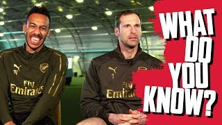 CAN YOU NAME THE FRANCE WORLD CUP SQUAD? | Pierre-Emerick Aubameyang v Petr Cech | What do you know?