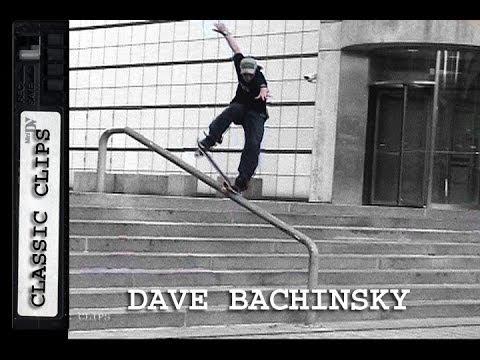 Dave Bachinsky Skateboarding Classic Clips #135 Salt N' Pepper