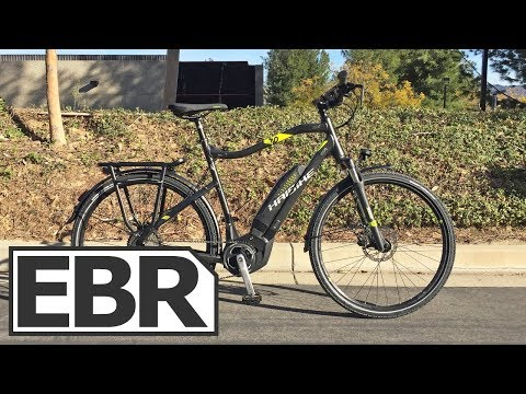 Haibike SDURO Trekking 4.0 Video Review – $2.5k Touring Electric Bike, Value Priced