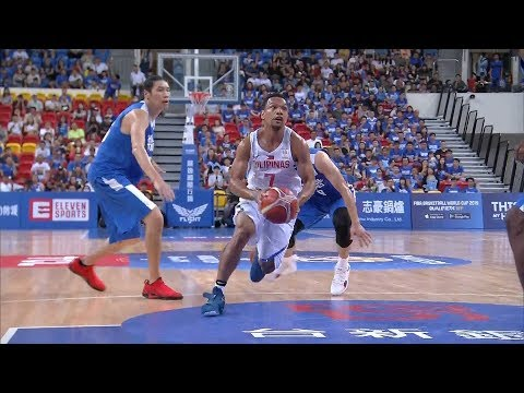 Highlights: Philippines vs. Chinese Taipei   FIBA World Cup 2019 Asian Qualifiers